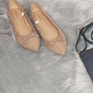 Merona Pointed Toe Ballet Flat (NWOT)
